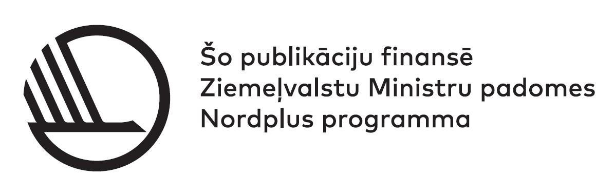 Nord+ logo - latviešu versija