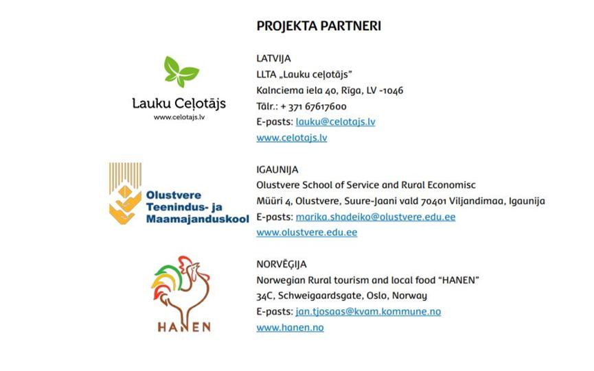 Projekta partneri